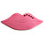 Pale Pink Plastic Crystal Lips Brooch - view 1