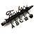 'Teacher' Charm Brooch (Gun Metal Finish) - view 3