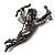 Gun Metal Cupid Brooch - view 5