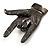 Gun Metal 'Rock & Roll' Brooch - 70mm L - view 4