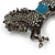 Hematite Coloured Swarovski Crystal Horse Brooch In Gun Metal Tone - 70mm Across - view 8