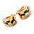 Small C-Shape Diamante Animal Print Clip On Earrings (Gold Tone) - view 6