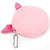 Ligth Pink Little Piggy Fabric Coin Purse/ Bag Charm for Kids - 10.5cm Width - view 2