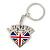 I Love London Keyring/ Bag Charm SOUVENIR - 9cm L