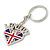 I Love London Keyring/ Bag Charm SOUVENIR - 9cm L - view 4