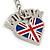 I Love London Keyring/ Bag Charm SOUVENIR - 9cm L - view 5