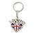 I Love London Keyring/ Bag Charm SOUVENIR - 9cm L - view 7