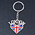 I Love London Keyring/ Bag Charm SOUVENIR - 9cm L - view 8