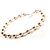 Multi-Sized Lustrous Pearl Style Necklace - view 3