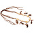 Wooden Nugget Feather Long Suede Cord Safari Necklace - view 10