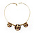 Ornate Disk Ethnic Choker