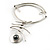 Stainless Steel Hammered Hematite Tribal Choker Necklace - view 9