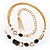 Long Gold Tone Multistrand Tassel Necklace - view 11