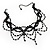 Victorian Style Black Beaded Choker - view 7
