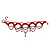Victorian Style Hot Red Beaded Choker - view 6