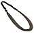 Catwalk Style Long Black Multichain Necklace (100cm Length) - view 2