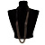 Catwalk Style Long Black Multichain Necklace (100cm Length) - view 5
