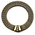 Vintage Style Wide Mesh Magnetic Choker (Bronze Tone)