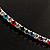 Thin Austrian Crystal Choker Necklace (Multicoloured) - view 6