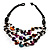 3 Strand Multicoloured Shell & Bead Necklace - view 7