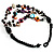 3 Strand Multicoloured Shell & Bead Necklace - view 3