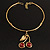 Ethnic Cherry Handmade Choker Necklace - view 11