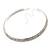 2-Row Swarovski Crystal Choker Necklace (Silver Plated) - view 8