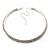 2-Row Swarovski Crystal Choker Necklace (Silver Plated) - view 9