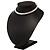 2-Row Swarovski Crystal Choker Necklace (Silver Plated) - view 11