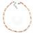 5-6mm Cream/ White/ Pink Rice Freshwater Pearl Necklace - 41cm L/ 5cm Ext - view 9