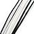 Black&White Enamel Flower Cord Pendant - view 4