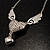 Silver Plated Angel Wings&amp;Heart Fashion Pendant - view 4