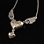 Silver Plated Angel Wings&amp;Heart Fashion Pendant - view 7