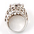Hollywood Style Cocktail Ring - view 4