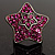 Magenta Crystal Star Ring - view 3