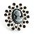'Classic Lady' Cameo Diamante Ring
