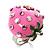 Pink Enamel Strawberry Ring - view 6