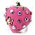 Pink Enamel Strawberry Ring - view 7