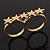 Gold Plated Double Finger 'Five Star' Ring - Size 7&8 - view 5