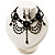 Black Gothic Costume Choker Necklace And Earring Set - view 9