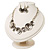 Ethnic Disc Necklace & Drop Earrings Set (Antique Silver) - view 16